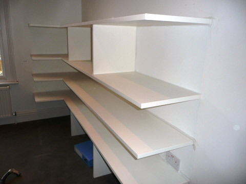 Millbank-SW1 Office Storage Shelves