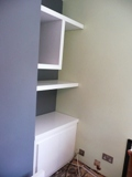 shiny shelves