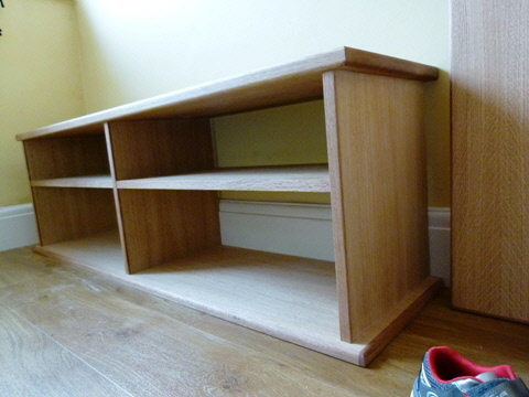 oak georgian cabinets fitted